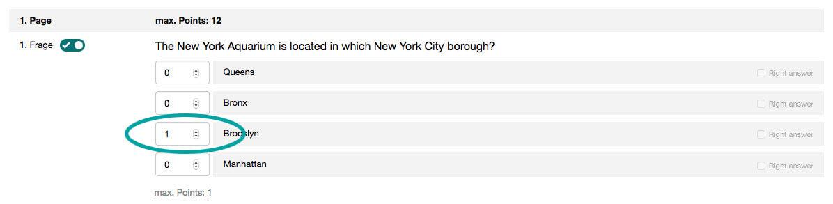 Quiz Points