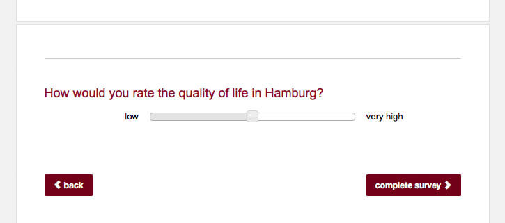Personalize survey by parameter