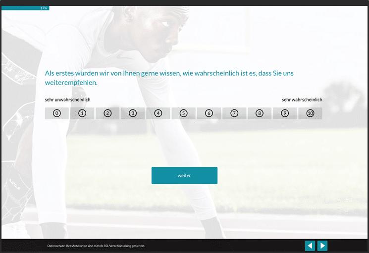 Umfragen mit modernem Design und optimierter Usability