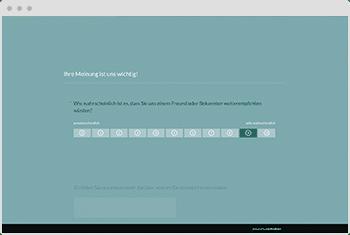 Fragebogen-Vorlage: Net Promotor Score (NPS)