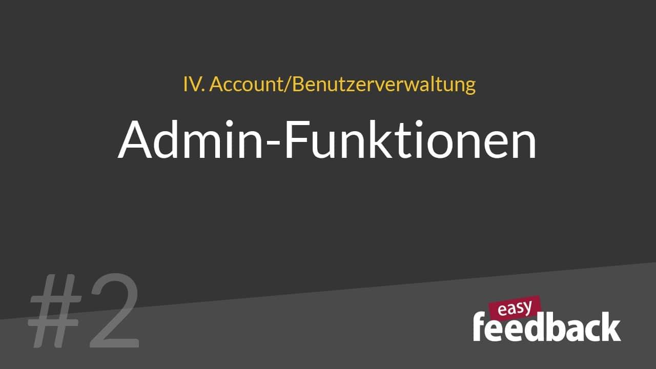 administratorfunktionen