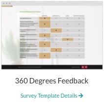 360 degree feedback survey template