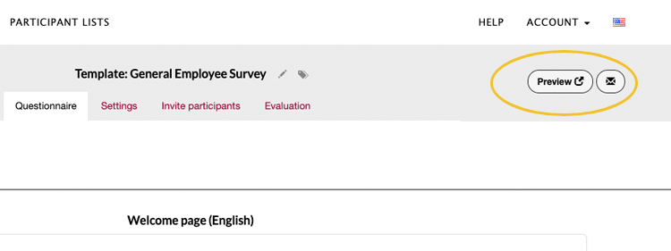 Layout survey preview easyfeedback