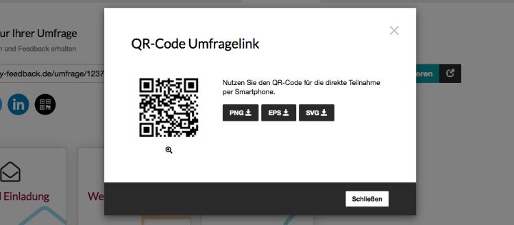 QR-Code Vorschau