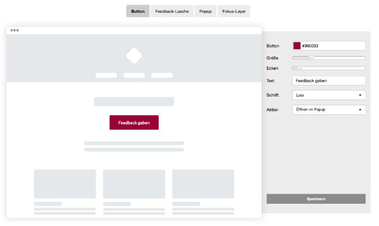 Website Integration: Button