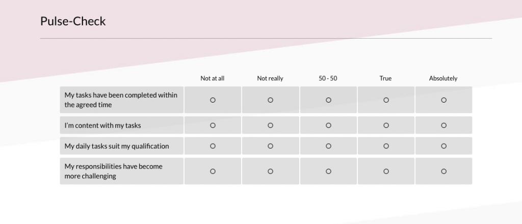 puls check survey question 3