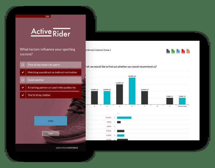 Umfrage erstellen, durchführen und auswerten mit easyfeedback